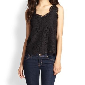 Joie Cina Lace Tank Top